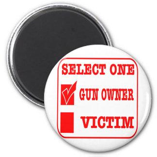 Imã Selecione uma proprietário ou vítima de arma