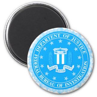 Imã Selo do FBI no azul