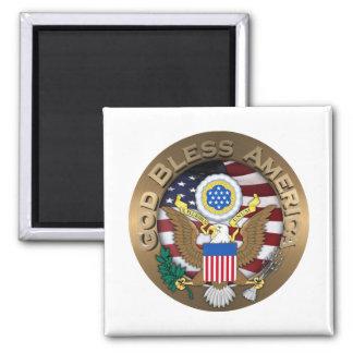 Imã Selo dos Estados Unidos da América - deus abençoe