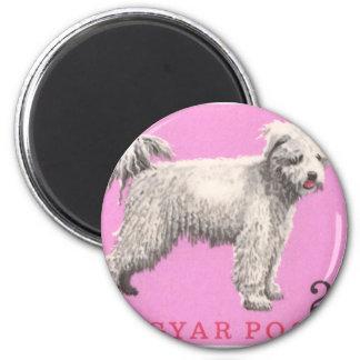 Imã Selo postal 1967 do cão de Hungria Pumi