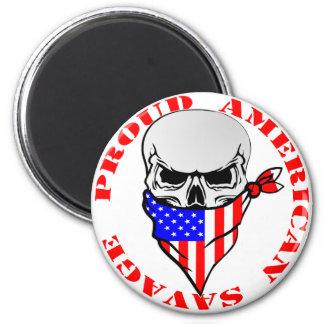 Imã © selvagem americano orgulhoso de