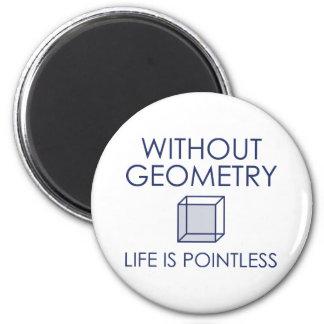Imã Sem geometria a vida é injustificada