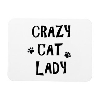 Ímã Senhora louca do gato