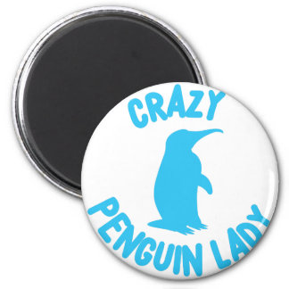 Imã senhora louca do pinguim