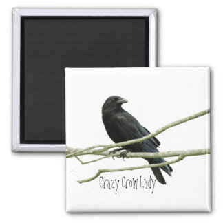 Imã Senhora louca Ímã do corvo