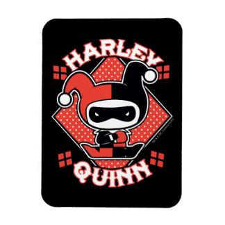 Ímã Separações de Chibi Harley Quinn