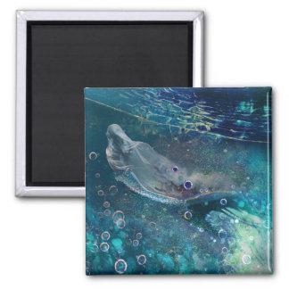 Imã Sereia subaquática da mística do índigo