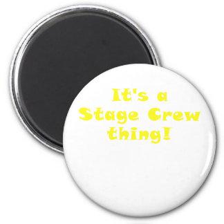 Imã Seu uma coisa do grupo de palco
