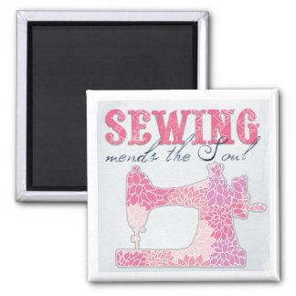 Imã Sewing emenda a alma