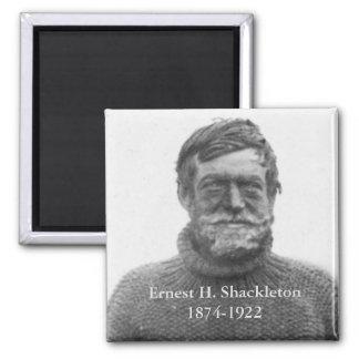 Imã Shackleton na imagem antárctica do Nimrod 1909