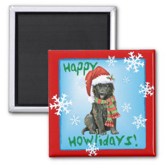 Imã Sheepdog feliz do belga de Howlidays