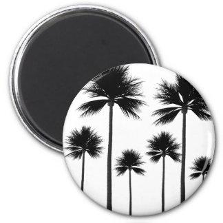 Imã Silhueta da palmeira