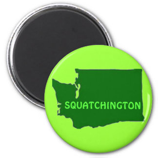 Imã Silhueta de Squatchington Washington