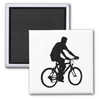 Imã Silhueta do Bicyclist