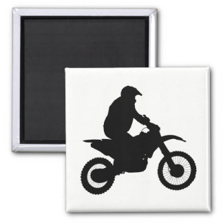 Imã Silhueta do motocross