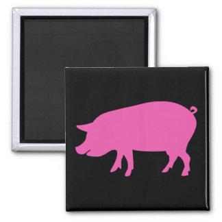 Imã Silhueta do porco
