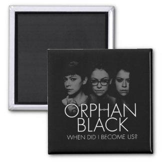 Imã Silhueta órfão do preto | três Sestras