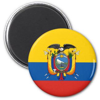 Imã Símbolo da bandeira de país de Equador por muito