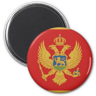 Imã Símbolo da nação da bandeira de país de Montenegro
