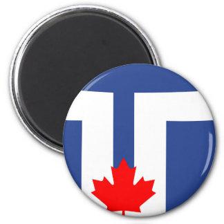 Imã Símbolo de Canadá da bandeira da cidade de Toronto