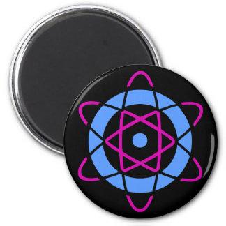 Imã Símbolo do átomo do geek de Sci Fi