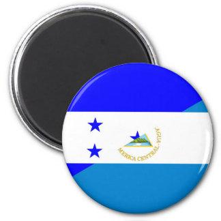 Imã símbolo do país da bandeira de honduras Nicarágua