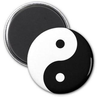 Imã Símbolo filosófico inspirador de Yin e de Yang