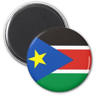 Imã símbolo longo da nação da bandeira do país sul de