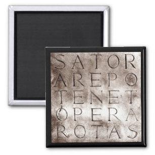 Imã Símbolo mágico secreto antigo das rotas de Sator