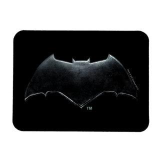 Ímã Símbolo metálico da liga de justiça | Batman
