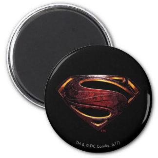 Imã Símbolo metálico do superman da liga de justiça |