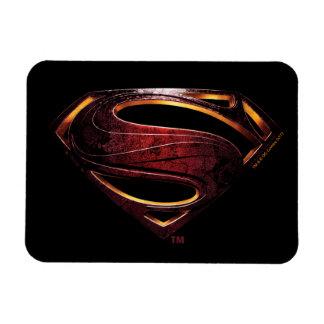 Ímã Símbolo metálico do superman da liga de justiça |