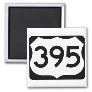 Imã Sinal da rota 395 dos E.U.