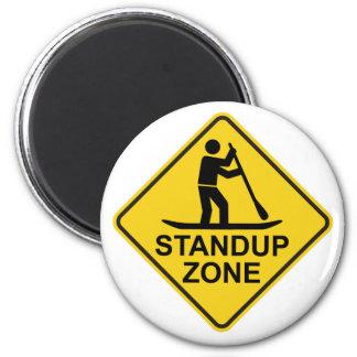 Imã Sinal de estrada Standup da zona de Paddleboarding