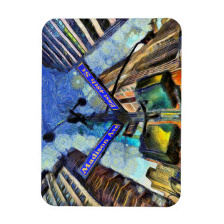Ímã Sinal de rua Van Gogh de New York