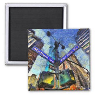 Imã Sinal de rua Van Gogh de New York