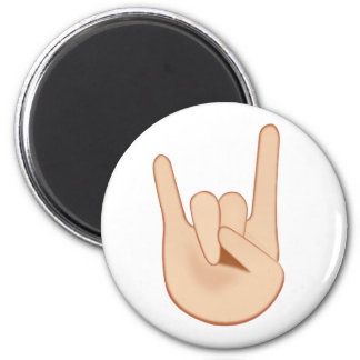 Imã Sinal dos chifres Emoji
