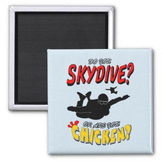 Imã Skydive ou galinha? (preto)