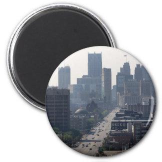 Imã Skyline de Detroit