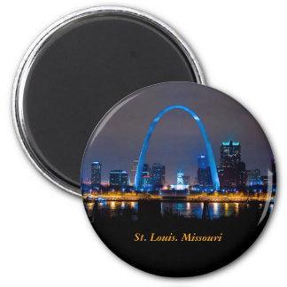 Imã Skyline de St Louis no ímã da noite