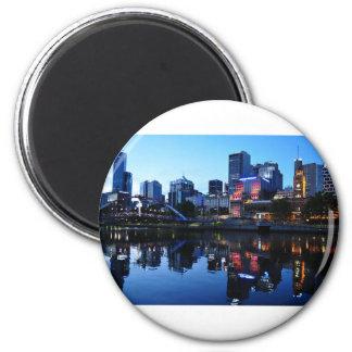 Imã Skyline do por do sol de Melbourne