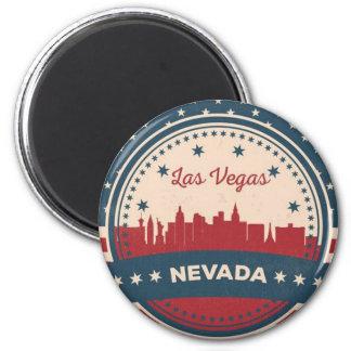 Imã Skyline retro de Las Vegas