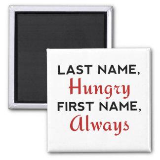 Imã Sobrenome com fome