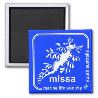 Imã Sociedade da vida marinha do ímã do logotipo do