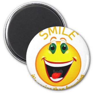 Imã Sorriso! É mais fácil do que olhando de