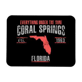 Ímã Spings coral