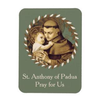 Ímã St Anthony do bebê Jesus de Pádua