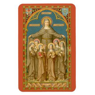 Ímã St. Clare de Assisi & das freiras (SAU 027)