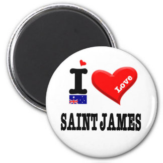 Imã ST JAMES - amor de I