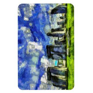 Ímã Stonehenge Vincent van Gogh